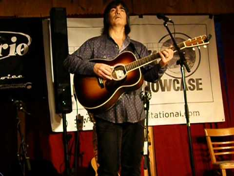 Larry Campbell's Celtic guitar, Woodstock Luthiers Festival 2012