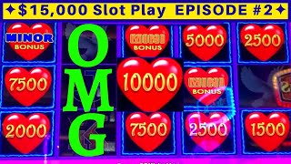 Lightning Link Slot Machine HUGE WIN | NON STOP BONUSES | EPISODE-2 | Live Slot Play w/NG Slot