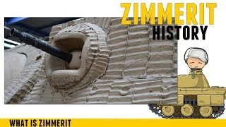Zimmerit on Tanks - What is it - History.