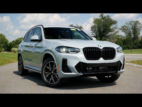 2022 BMW X3 LCI Review - Walk Around and Test Drive