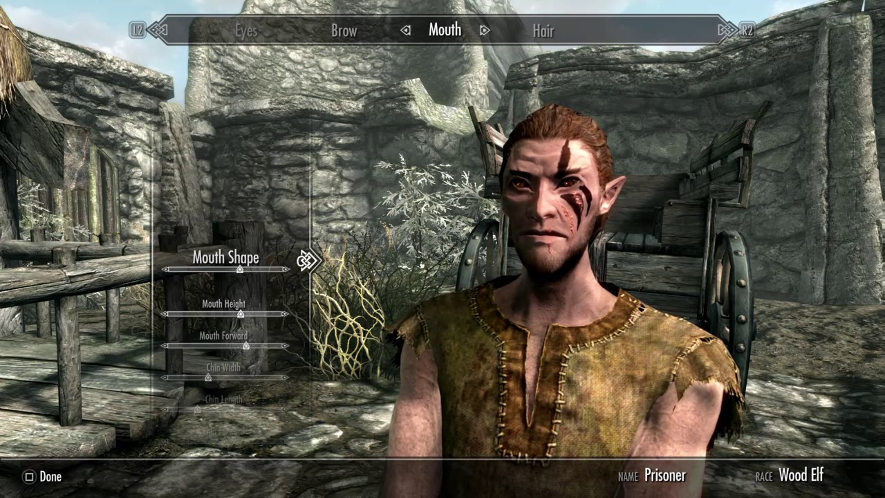 Male Wood Elf Skyrim Mod | Wooden Thing