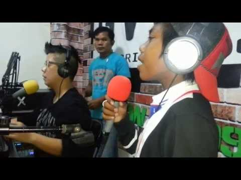 Chris, BALUT VENDOR, first Guesting in RADIO Station (GV99.9 Drive Radio) 2 of 3