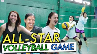 Playing Volleyball by Alex Gonzaga