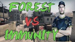 CSGO: POV NiP f0rest vs Immunity (30/16) dust2 @ FACEIT League 2015 Finals
