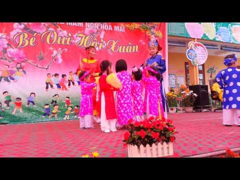 Múa Xúc xắc xúc xẻ - Bé Ngoc Mai - Trường Mầm Non Hoa Mai - TP Thái Nguyên
