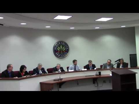 January 25 2017 Sussex County Board of Chosen Freeholders