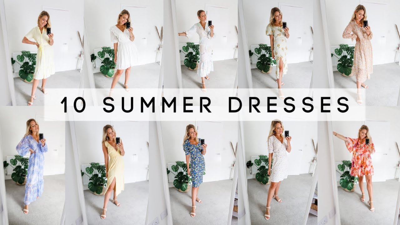 10 MUST-HAVE SUMMER DRESSES 2020! | H&M, ASOS, New Look + More! | Charlotte Beer