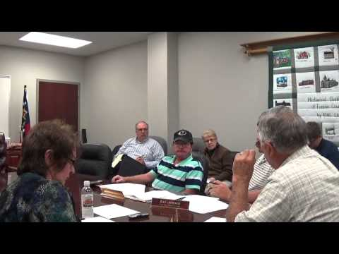 Blue Ridge Commissioners Meeting- Kubota Lawsuit Settled 10/7/14