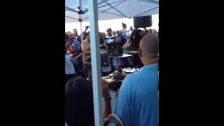 DJ SCRATCH ROCKING OUT AT TED SMOOTH