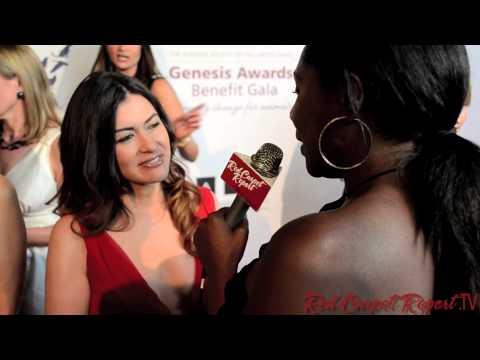 Leilani Münter at the 2013 Genesis Awards Benefit Gala #genesisawards @LeilaniMunter