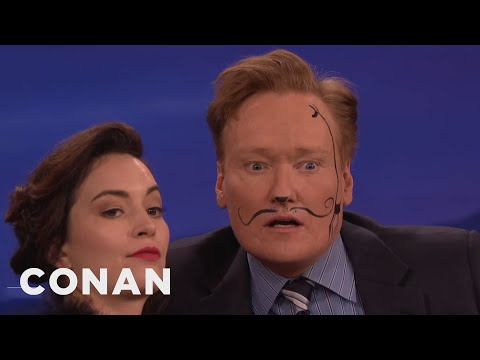 Britt Lower Paints Conan's Spirit Animal  - CONAN on TBS