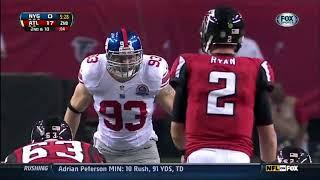 2012 - Giants @ Falcons Week 15