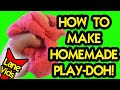 HOW TO MAKE THE BEST HOMEMADE PLAYDOUGH (Science Experiment)