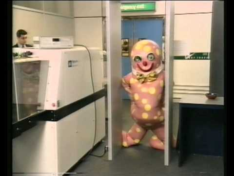 Mr. Blobby goes on holiday...