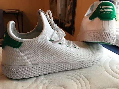 Unboxing the Pharrell Williams x Tennis Hu - YouTube 8f743a0d4