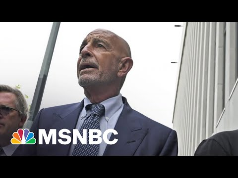 Trump Ally Tom Barrack Pleads Not Guilty In UAE Lobbying Case