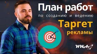 План работ по созданию и ведению Таргетированной Рекламы в Facebook, Instagram, Vk, MyTarget - WWA