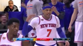 THIS HAS TO BE THE LONGEST GAME IN NBA HISTORY! QUADRUPLE OVERTIME!! KNICKS VS HAWKS! CARMELOOOO