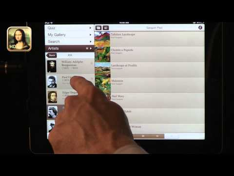 Tech Edge, iPads In The Classroom - Episode 69, Art History Apps