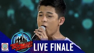 pinoy boyband superstar grand reveal niel murillo i wont give up