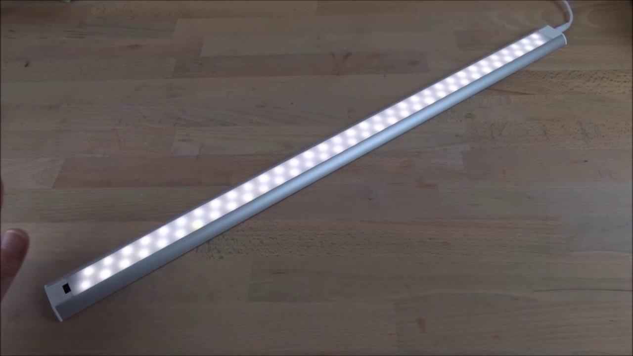 Led Küchen Unterbauleuchte Mit Sensor : led unterbauleuchte mit sensor youtube ~ Eleganceandgraceweddings.com Haus und Dekorationen