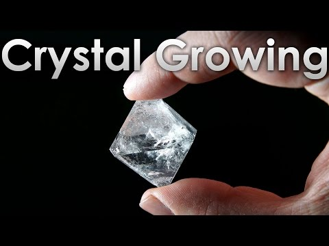 Grow Transparent Single Crystals of Alum salt at Home!