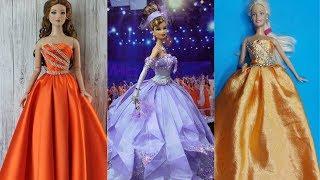 Amazing DIY Barbie Clothes Life Hacks 🤗 & part 7