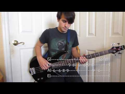 Feel Good Inc Bass Cover with Tabs