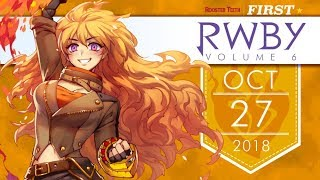 RWBY Volume 6 Premiere Date & Adam Character Short! | New RTX 2018 Info