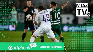 Ferencvárosi TC  - Újpest FC | 1-0 (0-0) | OTP Bank Liga | 9. forduló | 2018/2019
