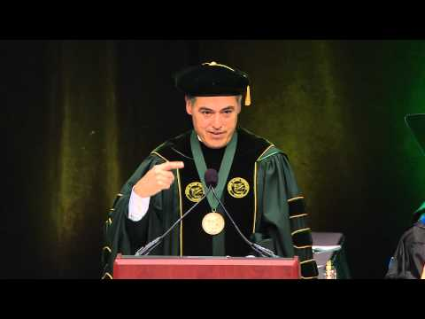 George Mason University's 48th Annual Spring Commencement.  May16, 2015