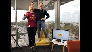 The Maties Netball team made it into the semi-final of this year's Varsity Netball Cup. We sat down with one of their players, Charmaine Baard to chat about the cup and also her time playing overseas.