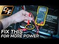 YOU'RE LOSING PERFORMANCE! How to Measure Voltage Drop and Test Ground
