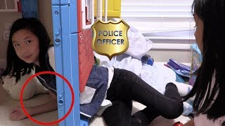 Pretend Play Police on Missing ATM Money Machine