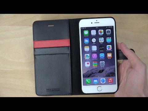 iPhone 6 Plus Wallet S Spigen Case - Review (4K)