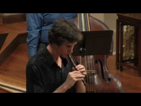 Antonio Vivaldi: Recorder Concerto in C Major RV 444 Largo, Voices of Music