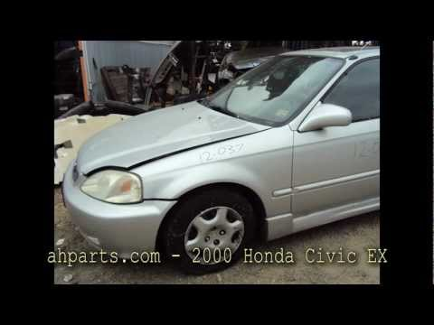2000 Honda Civic EX parts AUTO WRECKERS RECYCLERS ahparts.com Acura used