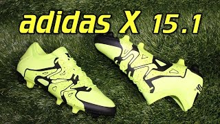 Adidas x 15.1 synthetic solar yellow - review + on feet