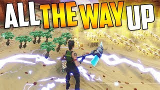 I TRADED Fibrous Herbs To All of THIS... (All The WAY UP) - Fortnite Save The World