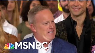 Define Star? ABC Hires Sean Spicer For 'Dancing With The Stars'   The Beat With Ari Melber   MSNBC