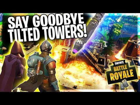 TILTED TOWERS IS GOING TO BE DESTROYED BY THE END OF SEASON 4!!