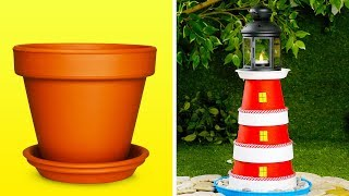 16 BEAUTIFUL DIY IDEAS FOR YOUR GARDEN