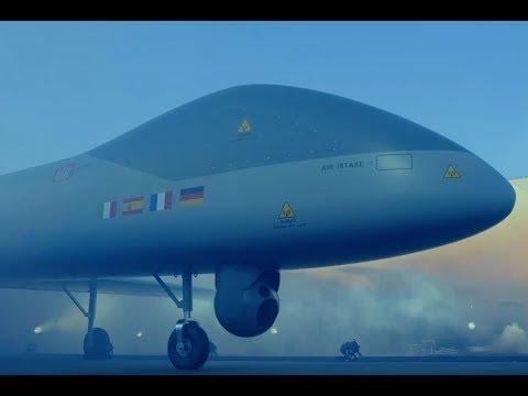 Airbus, Dassault Aviation et Leonardo présente le drone MALE 100% européen