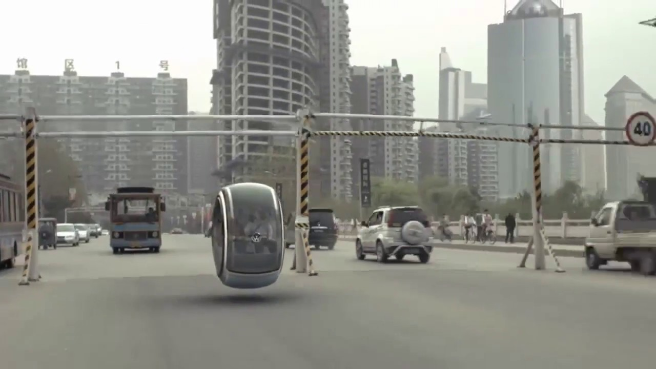 Volkswagen floating car