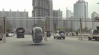 Volkswagen Hover Car With Magnetic Levitation Design - Whoa