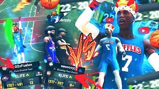 ONLY 1% OF 2K PLAYERS COULD SURVIVE THIS....TRYHARD DOUBLE CENTERS VS DEMIGOD BEST BUILD! NBA 2K19