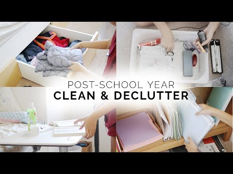 clean + declutter with me ✨