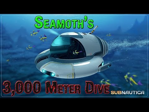Subnautica (Let's Play) Looting Containers, 3,000 Meter Dive & New Seabase (Gameplay)