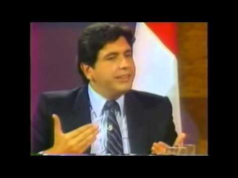 Alan Garcia 1984 - Su visión del Perú y promesas...