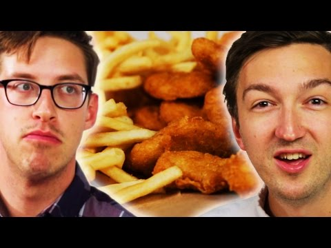 Thumbnail: People Learn Chicken Nugget Facts While Eating Them